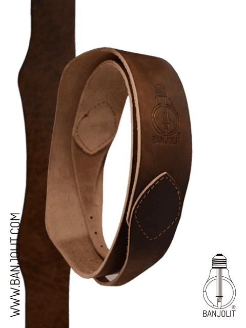 Banjo Leather Strap - Special