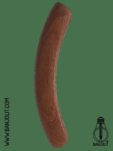 Banjo Mini Armrest - Mahogany